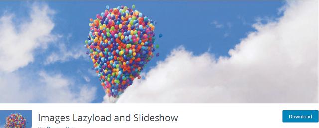 افزونه Images Lazy Load & Slideshow
