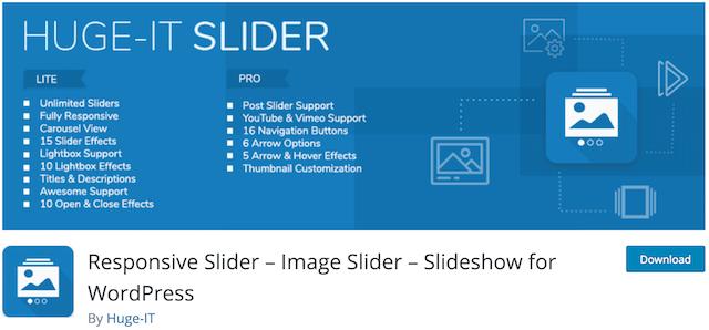 افزونه Responsive Slider