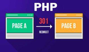 کد ریدایرکت در php