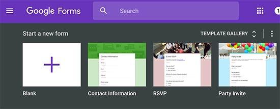 چگونه فرم گوگل را در وردپرس قرار دهید؟