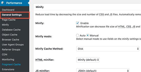 رفع مشکل مسدود کننده اجرای جاوا اسکریپت و CSS با استفاده از W3 Total Cache